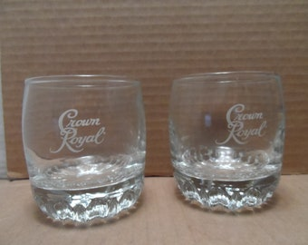 Vintage Barware_Crown Royal Highball Glasses