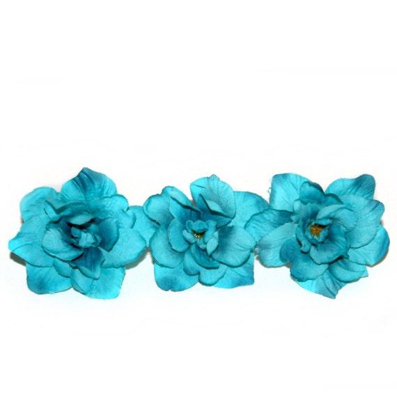 3 turquoise silk delphinium 4 layers silk flowers artificial 3 turquoise silk delphinium 4 layers silk flowers artificial flowers pre order from silkinspirations on etsy studio mightylinksfo