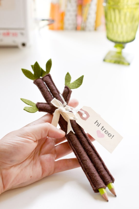 Twig Pencil Cozies - Set of Two