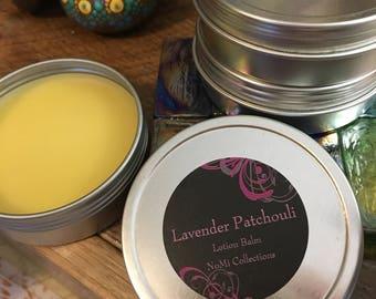 Lavender Patchouli Lotion Balm
