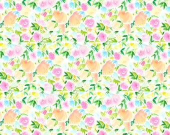 Floral Bouquet Wrapping Paper