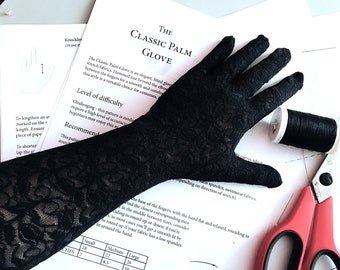 Sewing Pattern for Gloves | burlesque gloves | wedding gloves | costume gloves | formal gloves | DIY gloves | opera gloves | driving gloves
