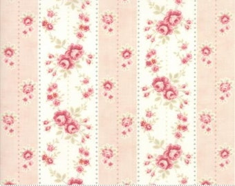 Fabric by the Yard - Poetry Prints in Blush - by 3 Sisters for Moda