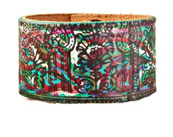 Leather Bracelets For Women, Leather Jewelry, Leather Cuffs, 2018