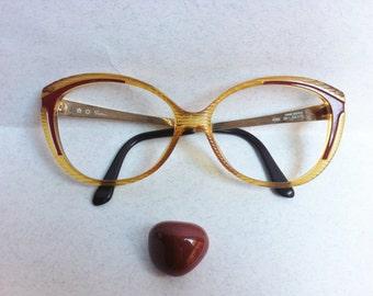 SAPHIRA 4096 frame Austria Red / Authentic Vintage Eyeglasses/ sunglasses