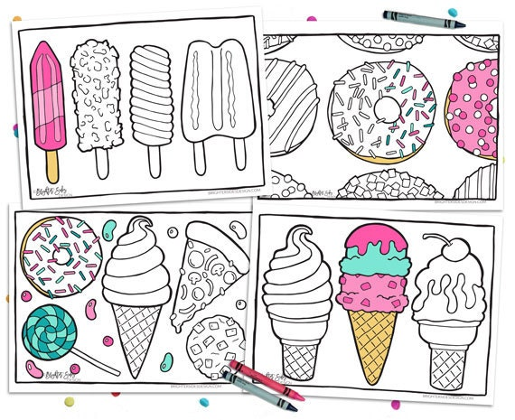 kids coloring pages nutrition foods - photo#18