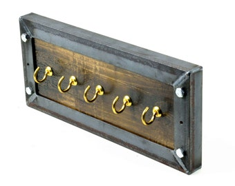 Industrial Key Rack - Key Holder - Key Hooks