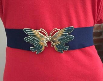 80's butterfly belt