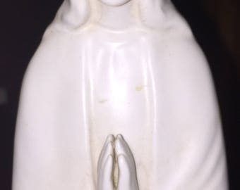 SALE Hummel Madonna Clone Statue, Virgin Mary Figure Lovely Vintage Virgin Mary Madonna Figurine