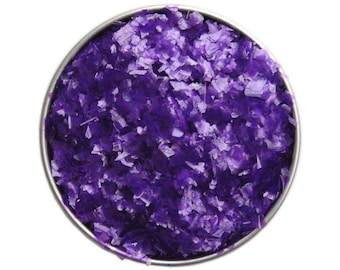 Lavender Purple Edible Glitter - sparkly purple glittery sprinkles for cakes, cupcakes, and cookies