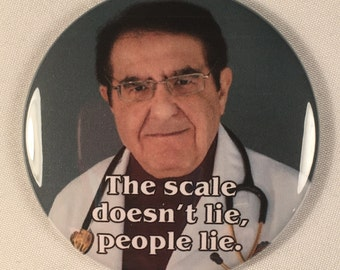My 600 lb. Life Dr. Nowzaradan Refrigerator Magnet Diet Aid - The scale doesn't lie