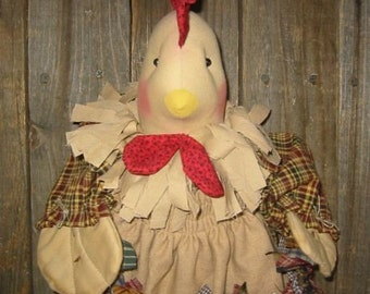 Chicken Bag Holder E Pattern PDF
