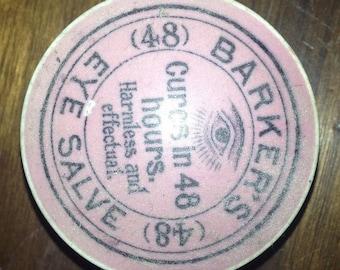 Rare Ceramic Ointment Pot lid.