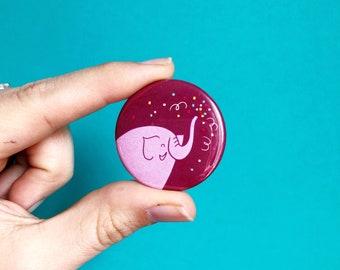sound our trumpets elephant button // jen hatmaker pin// sisters badge// best friend button// when our sisters rise up// elephants