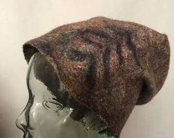 Jamaica Felted Hat Slouchy