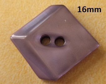 10 Buttons Purple 16 mm (3977) button