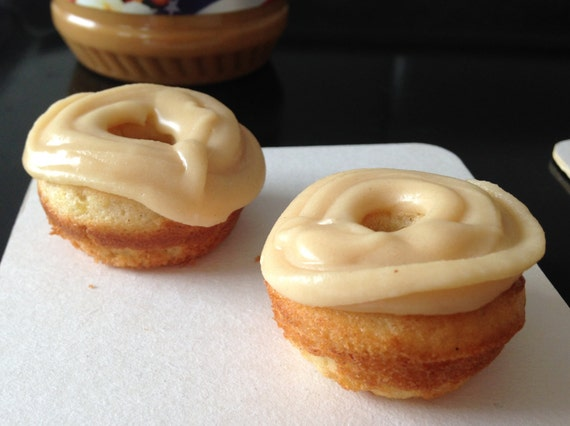 Banana Peanut Butter mini donuts
