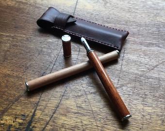 Wooden perfume pen