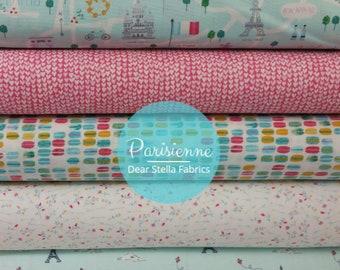 Paris Bundle from Dear Stella's Parisienne Collection - 5 Fabrics