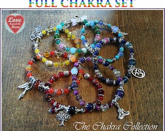 Buy the FULL SET of 7 Gemstone Chakra bracelets but only pay for 5! Get 2 free Limited Time promotional offer only and can't be repeated