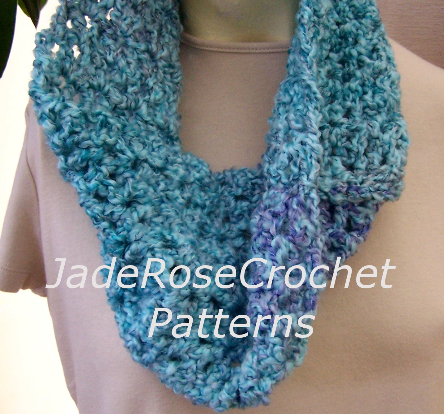 Crochet scarf pattern quick crochet scarf easy cowl pattern zoom bankloansurffo Image collections