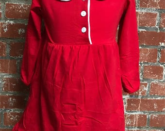 Girls Christmas Gown! Monogrammed Pjs!