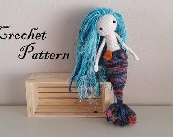 Sealyn Mermaid Crochet Amigurumi PATTERN