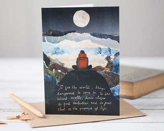 Life Quote [Greetings Card]