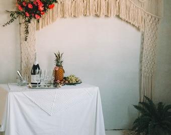 Wedding Macrame Arch by Ranran Design