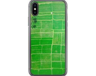iPhone X Case, Green Fields, Clear case, iPhone 8 plus Case, iPhone 7 Plus Case, iPhone 7 Case, iPhone 6s, iPhone 8 Case, Phone Case