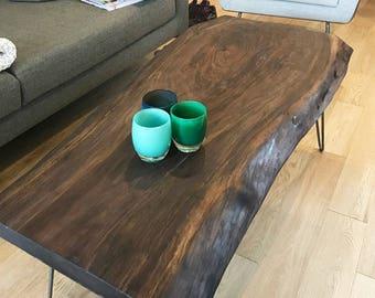 Walnut Live Edge Coffee Table