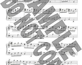 Water Lullaby sheet music