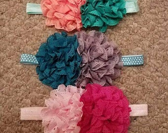 Baby Girl Headband or Clips