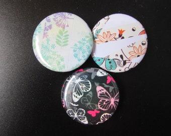 Washi Tape Pinback Buttons