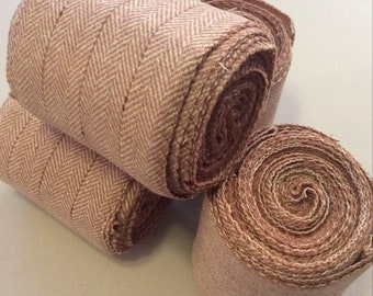 Winingas - Viking - Norse - Anglo-Saxon Leg Wraps tan / light beige