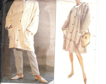 Vogue 2621  Misses' Coat, Skirt, and Pants   ID260