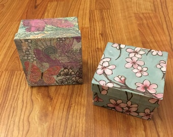 Square Trinket and Gift Box