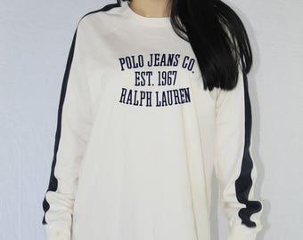 Vintage Polo Ralph Lauren Shirt Size Medium | Vintage Ralph Lauren | 90s Ralph  Lauren |