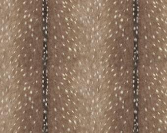 Deer Skin Nursing Pillow Cover - Deer Skin Minky and Minky Boppy Cover - Woodland, Deer