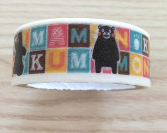 Masking tape / decorative tape / Washi tape mascott Japan