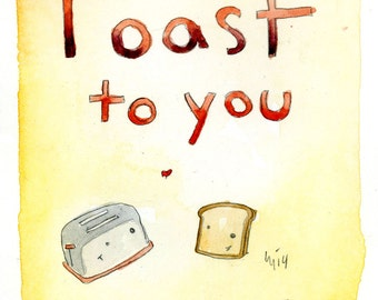 A Toast to You (greeting card)