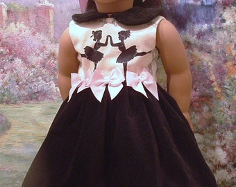 Little Ballerinas Special Occasion Dress for American Girl Dolls