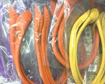 Orange Bag Handles