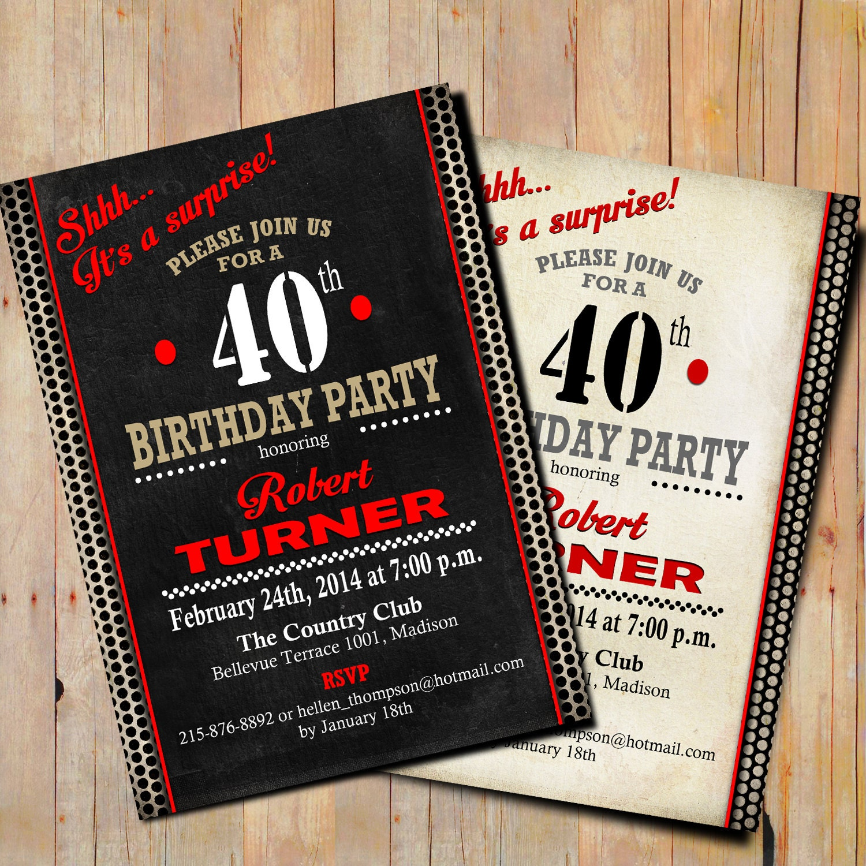 Surprise 60th birthday invitations akbaeenw surprise 60th birthday invitations filmwisefo