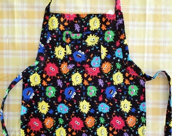 Child's Paint Splatter Apron