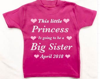 Brother sister BIG COUSIN or Little Cousin T-shirt or design your own