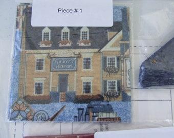Paper Piecing Quilt Kit....Quilt Shop.....Jacqueline Trepp