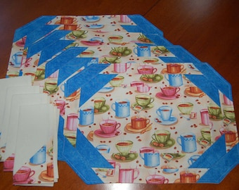 Tea Time Placemats and Napkins