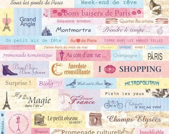 MAXI LOTS 46 PRE-CUT PARIS EIFFEL TOWER PEACE MONTMARTRE ARTEMIO SCRAPBOOKING STICKERS