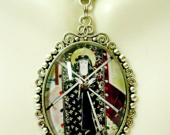 Our Lady of Sorrows pendant and chain - AP09-268